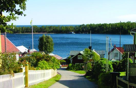 Ulvöhamn från Malabacken.